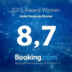 Hotel etxalar en Booking